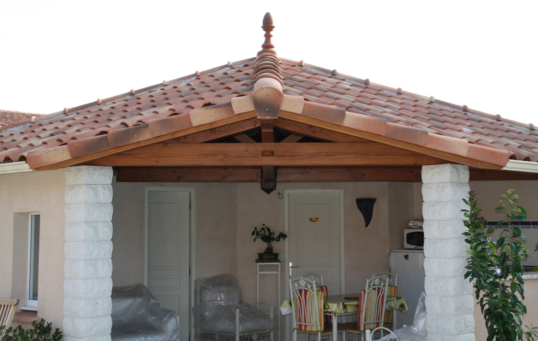 Charpente terrasse